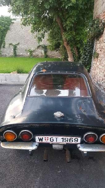 verkauft opel gt 1900 sportwagen / cou., gebraucht 1969, 150.000 km