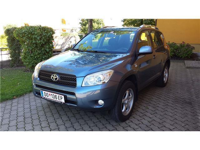 verkauft toyota rav4 2 2 d 4d 135 4wd gebraucht 2006 km in hard. Black Bedroom Furniture Sets. Home Design Ideas