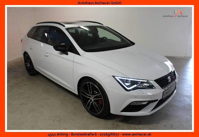 verkauft seat leon st cupra 300 tsi ds gebraucht 2017 km in arbing. Black Bedroom Furniture Sets. Home Design Ideas