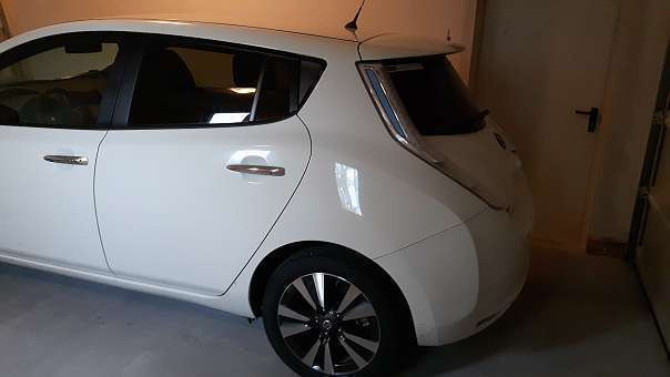 verkauft nissan leaf leaf30kwh tekna 1 gebraucht 2016. Black Bedroom Furniture Sets. Home Design Ideas