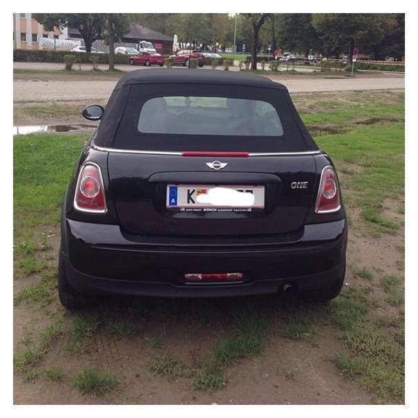 verkauft mini one cabriolet cabrio cab gebraucht 2010 km in klagenfurt. Black Bedroom Furniture Sets. Home Design Ideas