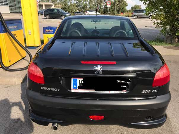 verkauft peugeot 206 cc 1 6 cabrio cab gebraucht 2002 km in wien. Black Bedroom Furniture Sets. Home Design Ideas
