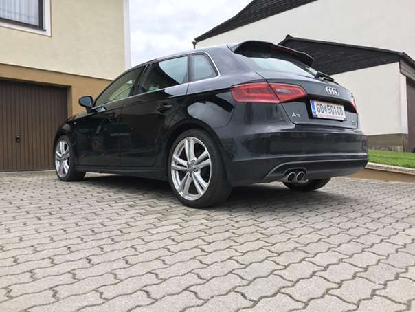 verkauft audi a3 2 0 tdi sport quattro gebraucht 2014 km in gm nd. Black Bedroom Furniture Sets. Home Design Ideas