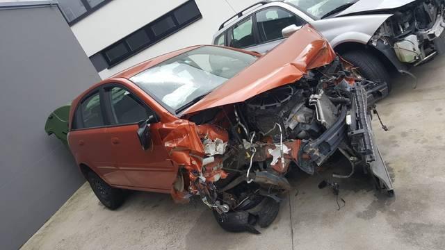 Verkauft Kia Rio 1,4i Cool unfall, gebraucht 2010, 140.000 km in Wien