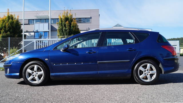verkauft peugeot 407 sw active 2 0 hdi gebraucht 2005 km in steyr gleink. Black Bedroom Furniture Sets. Home Design Ideas