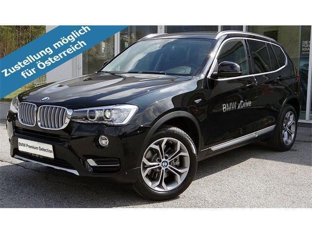 verkauft bmw x3 xdrive 20d xline gebraucht 2017. Black Bedroom Furniture Sets. Home Design Ideas