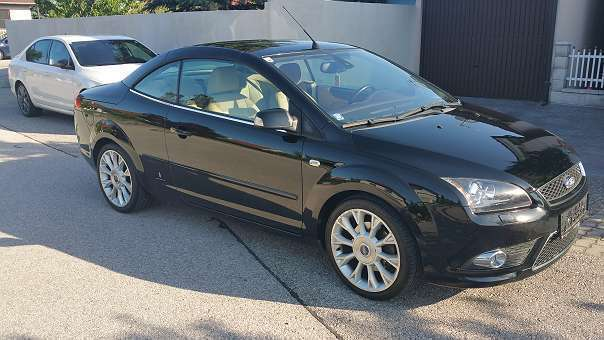 verkauft ford focus cabriolet focus cc gebraucht 2007 km in bad fischau. Black Bedroom Furniture Sets. Home Design Ideas