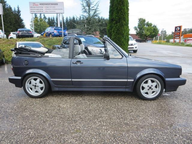 vw golf cabriolet 1 8 benzin 95 ps 1989 sattledt. Black Bedroom Furniture Sets. Home Design Ideas