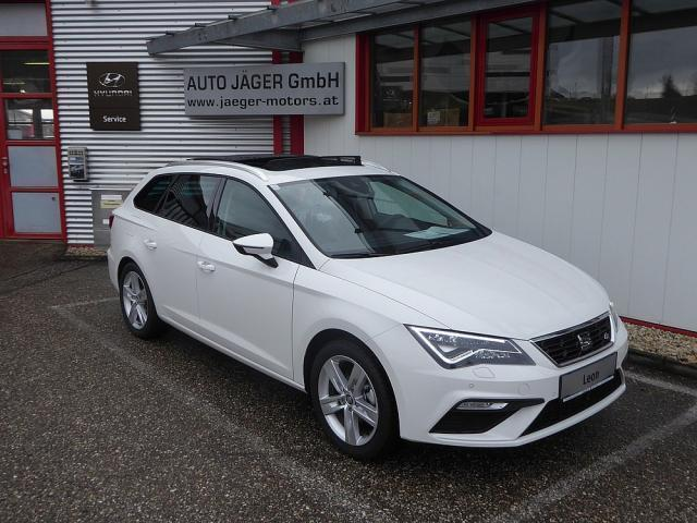 verkauft seat leon st fr tdi 4x4 acc p gebraucht 2016 800 km in altenfelden. Black Bedroom Furniture Sets. Home Design Ideas