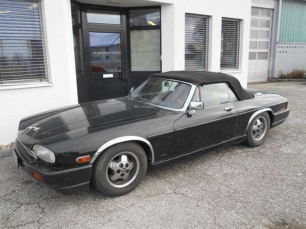 verkauft jaguar xjs xj sc v12 cabrio a gebraucht 1988. Black Bedroom Furniture Sets. Home Design Ideas