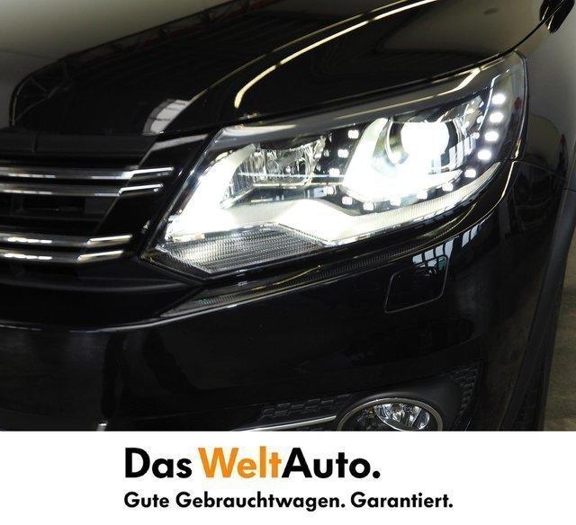 Verkauft VW Tiguan Sky TDI SCR 4MOTION., Gebraucht 2015