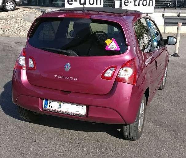 Verkauft Renault Twingo 1,2 16V 75 Qui., Gebraucht 2012