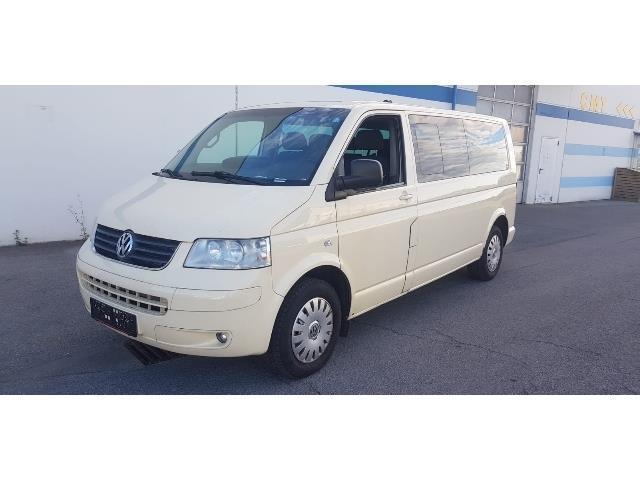 verkauft vw caravelle 2.5 tdi 9 sitzer., gebraucht 2007, 490.000 km