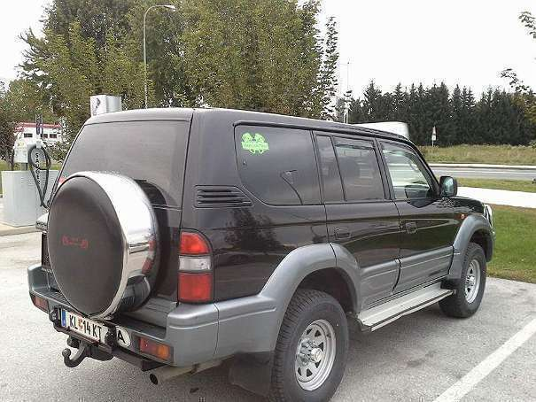 verkauft toyota land cruiser suv gel gebraucht 1999 km in magdalensberg. Black Bedroom Furniture Sets. Home Design Ideas