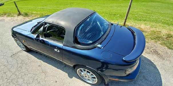 gebraucht 1 6 cabrio roadster mazda mx5 1991 km in sankt p lten. Black Bedroom Furniture Sets. Home Design Ideas