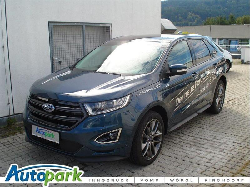 gebraucht 2 0 tdci sport 4x4 start stop powershift sport utility vehicle ford edge 2016 km 15. Black Bedroom Furniture Sets. Home Design Ideas