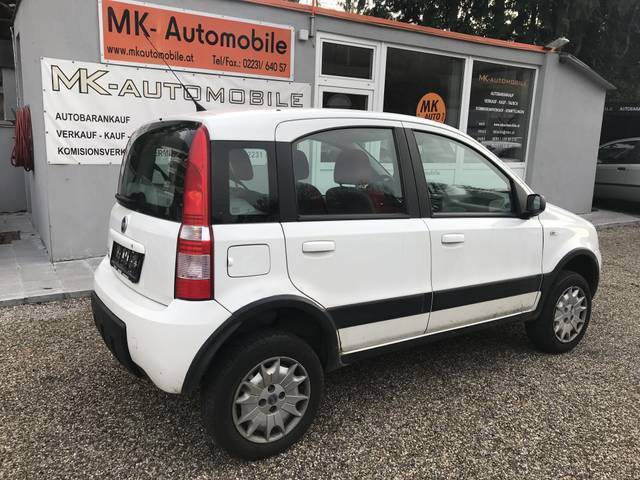verkauft fiat panda 4x4 allrad gebraucht 2005 km in purkersdorf. Black Bedroom Furniture Sets. Home Design Ideas