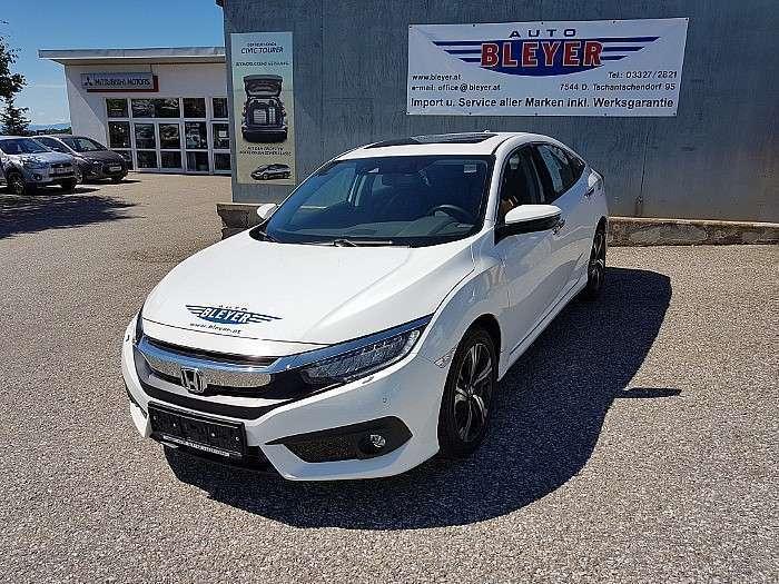 Verkauft Honda Civic 15 Vtec Turbo Ex Gebraucht 2017 17876 Km