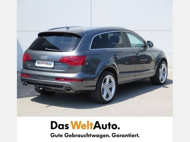 verkauft audi q7 3 0 tdi sport quattro gebraucht 2014 km in wien. Black Bedroom Furniture Sets. Home Design Ideas