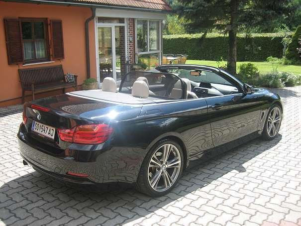 verkauft bmw 420 4er reihe d cabrio gebraucht 2014 km in trautmannsdorf in. Black Bedroom Furniture Sets. Home Design Ideas
