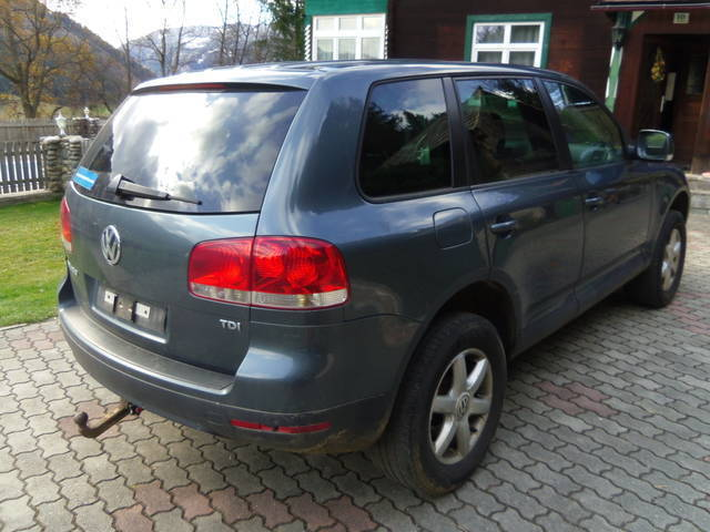 verkauft vw touareg 2 5 r5 tdi voll fa gebraucht 2005 km in unzmarkt. Black Bedroom Furniture Sets. Home Design Ideas
