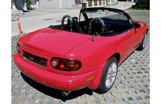 verkauft mazda mx5 1 6 cabrio cabrio gebraucht 1992 km in neunkirchen. Black Bedroom Furniture Sets. Home Design Ideas