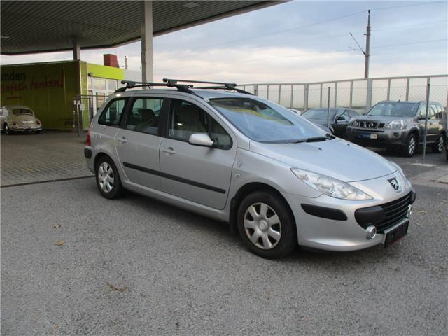 verkauft peugeot 307 break premium 1 6 gebraucht 2005 km in wildungsmauer. Black Bedroom Furniture Sets. Home Design Ideas
