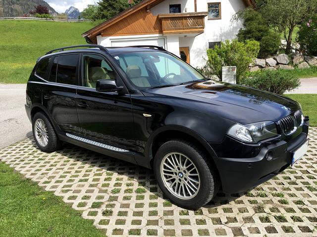 verkauft bmw x3 3 0d aut gebraucht 2005 km in. Black Bedroom Furniture Sets. Home Design Ideas
