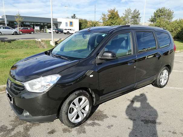 verkauft dacia lodgy 115 tce supreme 7 gebraucht 2014 km in bad v slau. Black Bedroom Furniture Sets. Home Design Ideas