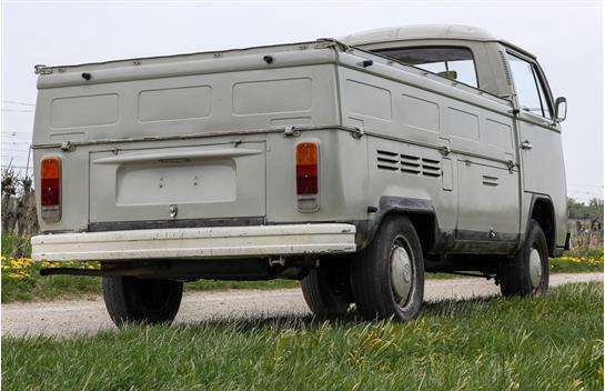 verkauft vw t2 pritsche pickup prits gebraucht 1972 km in tribuswinkel. Black Bedroom Furniture Sets. Home Design Ideas