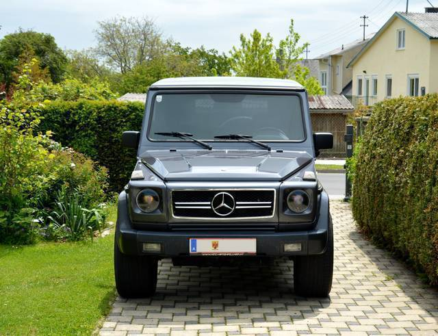 verkauft mercedes g320 g klasse puchme gebraucht 1994 km in rechnitz. Black Bedroom Furniture Sets. Home Design Ideas