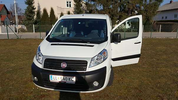 verkauft fiat scudo gebraucht 2015 km in linz land. Black Bedroom Furniture Sets. Home Design Ideas