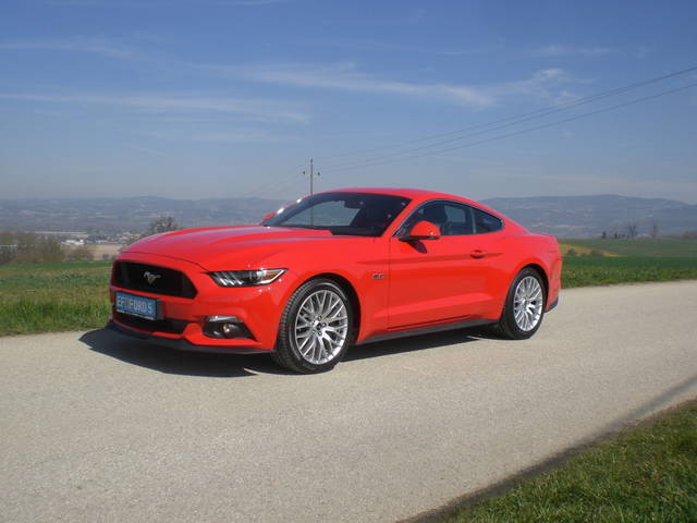 verkauft ford mustang gt 5 0 ti vct v8 gebraucht 2015. Black Bedroom Furniture Sets. Home Design Ideas