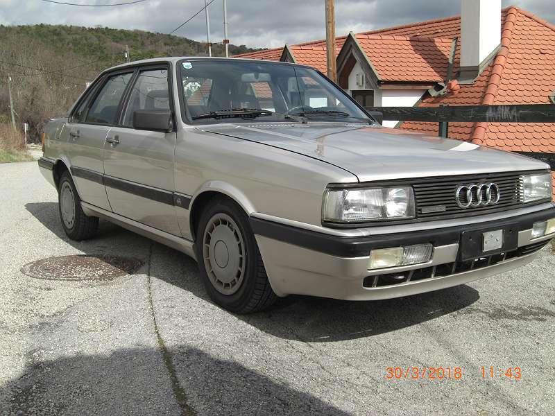 Verkauft 1 4 Gebraucht Audi 90 Quattro Limousine