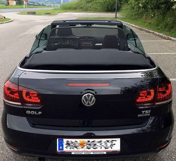 verkauft vw golf cabriolet golf 6er ca gebraucht 2012. Black Bedroom Furniture Sets. Home Design Ideas