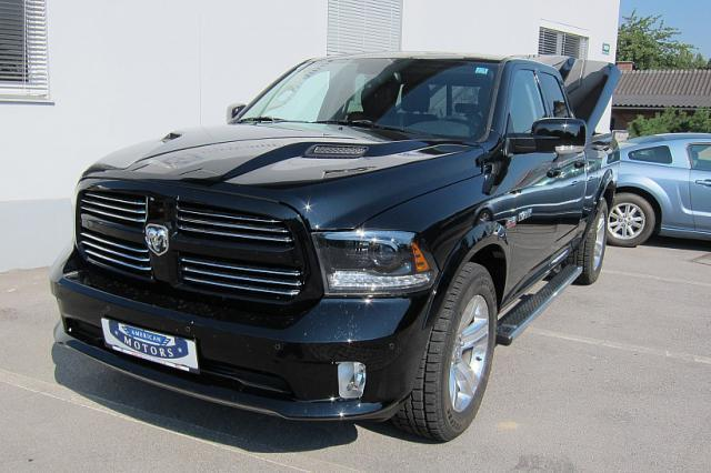 gebraucht 5 7l hemi doppelkabine dodge ram 2014 km 15. Black Bedroom Furniture Sets. Home Design Ideas