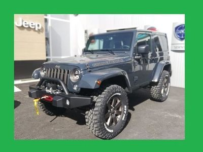 gebraucht Jeep Wrangler Unl. 2,8 CRD Sahara