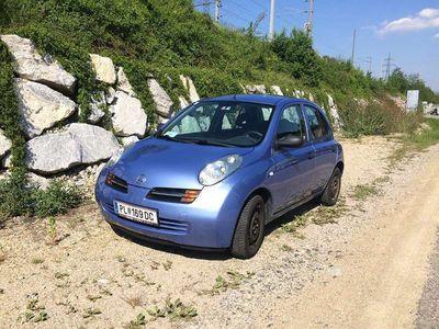 gebraucht Nissan Micra 1,2 16V K12 visia plus Klein-/ Kompaktwagen
