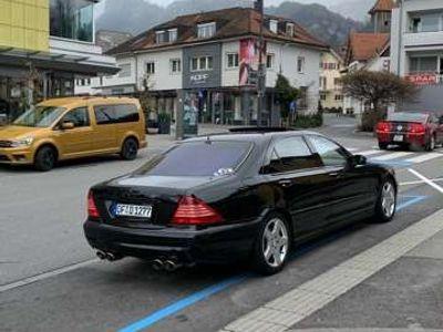 gebraucht Mercedes S55 AMG AMG -Klasse (220) lang Aut.