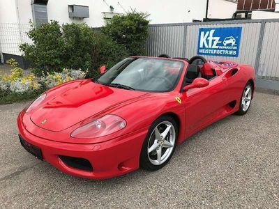 gebraucht Ferrari 360 Spider F1, 20.000km, Topzustand Sportwagen / Coupé