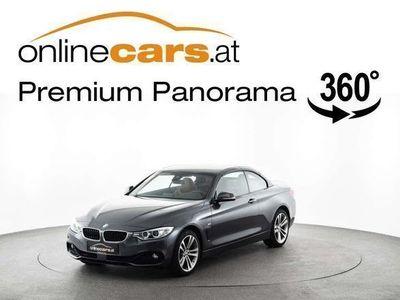 brugt BMW 428 4er-Reihe i xDrive Sport Line Aut. Cabrio RADAR LEDER ... Cabrio / Roadster,