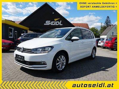 gebraucht VW Touran Comfortline 1,6 SCR TDI DSG *7-SITZE+NAVI*