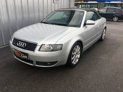 gebraucht Audi A4 Cabriolet 1,8 T quattro
