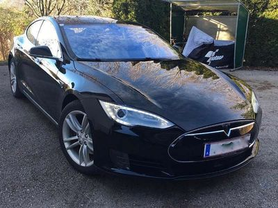 gebraucht Tesla Model S 85D - top gewartet, MCU neu, free Supercharging Limousine