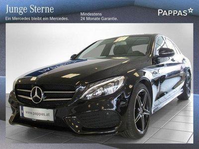 brugt Mercedes C180 d AMG Line Austria Edition