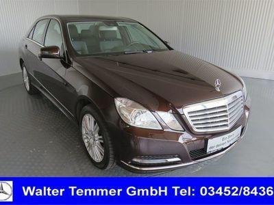 used Mercedes E200 CDI BlueEFFICIENCY Limousine