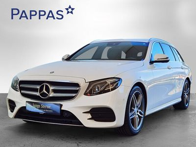gebraucht Mercedes E220 T Aut. *AMG-Line*Comand-Navi*360°Kamera*LED*u.v.