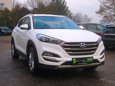 brugt Hyundai Tucson 1,7 CRDI Start-Stopp Style DCT Style