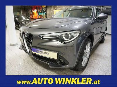 "gebraucht Alfa Romeo Stelvio 2,2 ATX AWD Super Leder/Navi/LED/19"", 181 PS, 5 Türen, Automatik"