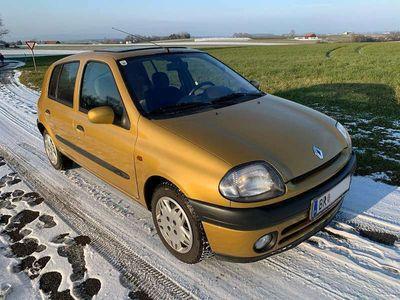 gebraucht Renault Clio B Sign 1.4 Benzin Klein-/ Kompaktwagen